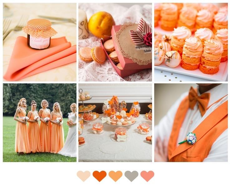 Orange Wedding Palette