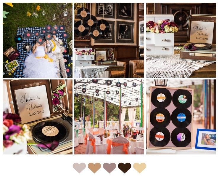 Vinyl Wedding Decor