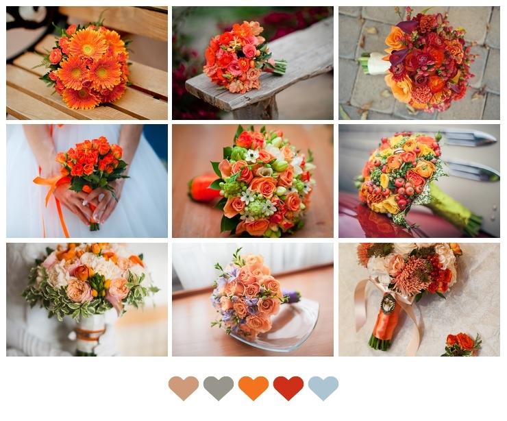 Bridal bouquet Purple in Autumn