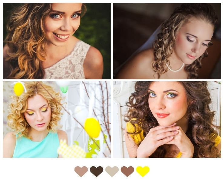 Curly Hair Wedding Styles
