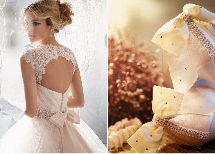 Wedding dresses Ivory Vintage