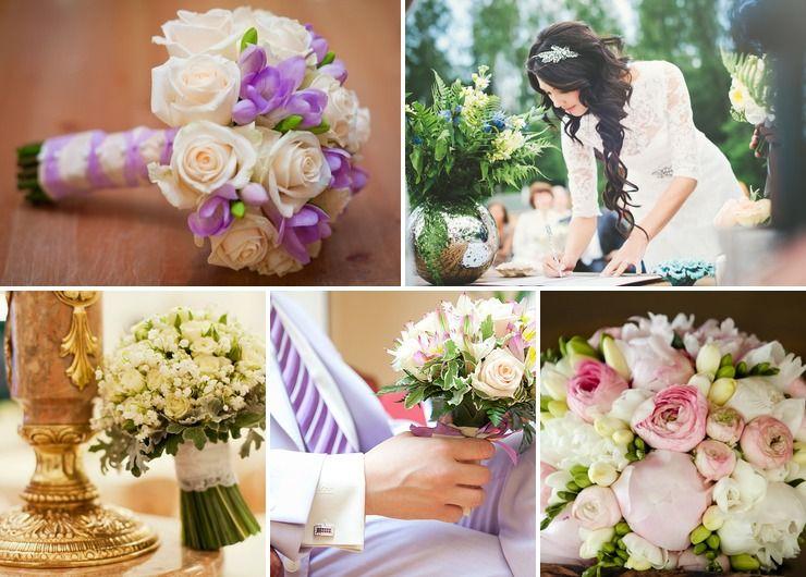 Pink bridal style