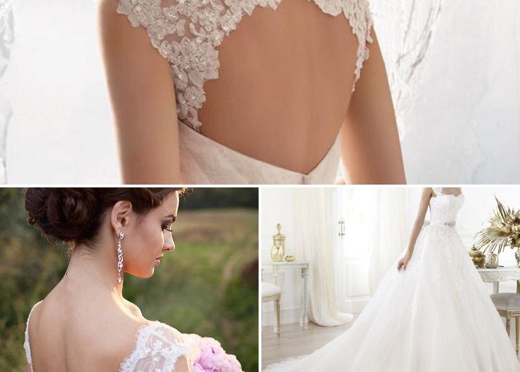 Summer ivory bridal style