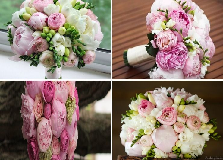 Bridal bouquet Pink