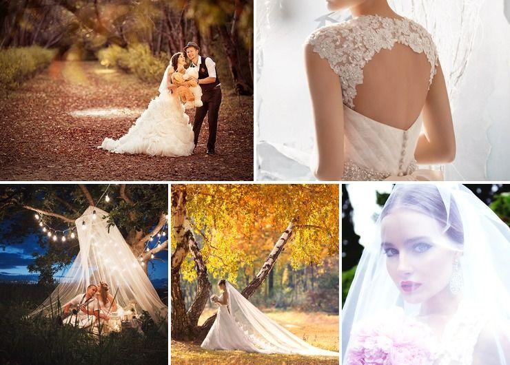 Vintage autumn real weddings