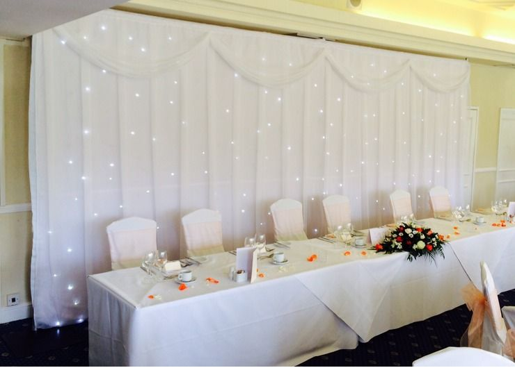 Top Table Backdrops