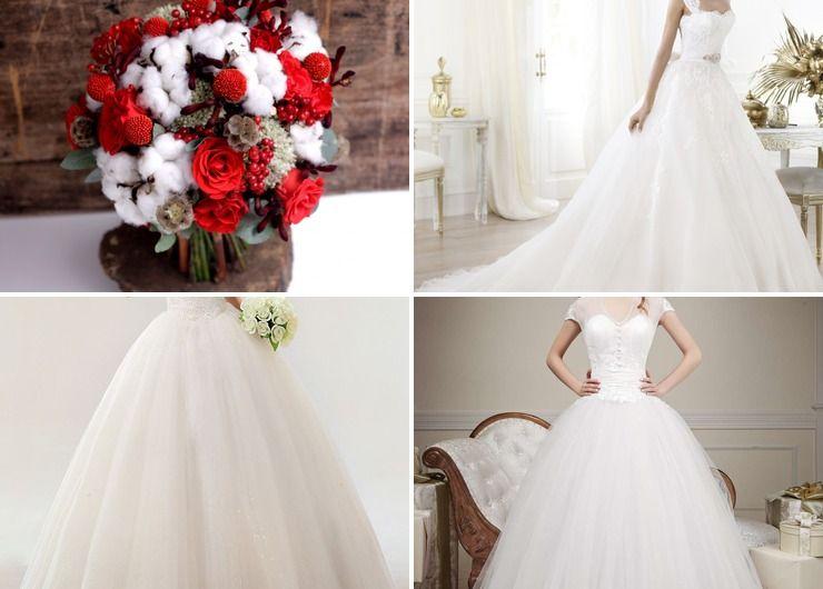 Vintage winter bridal style
