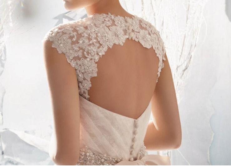 Ivory bridal style