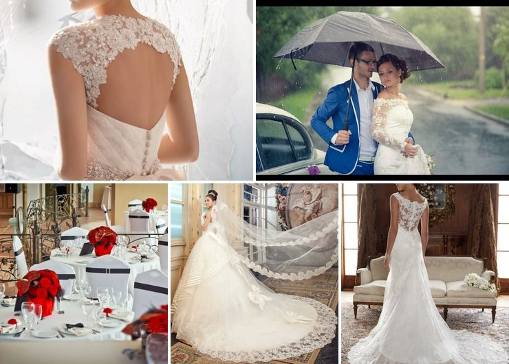 Vintage autumn bridal style