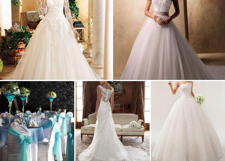 Wedding dresses Pink in Autumn American