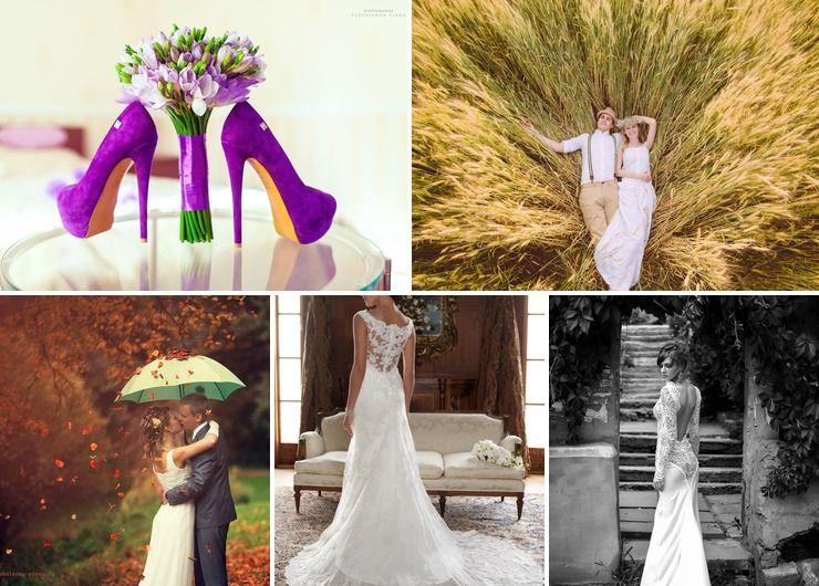 Wedding dresses Purple in Summer