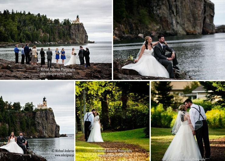 Lake Superior Wedding