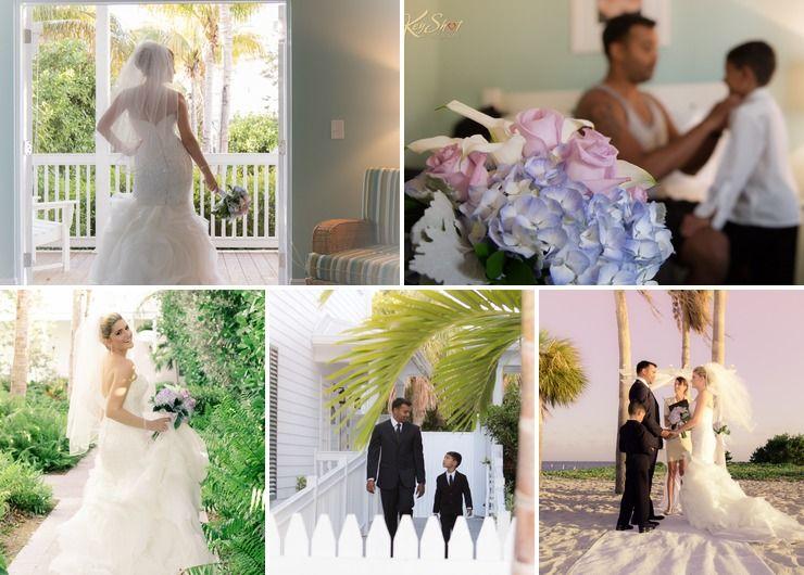 Jugena & Shawn beach wedding