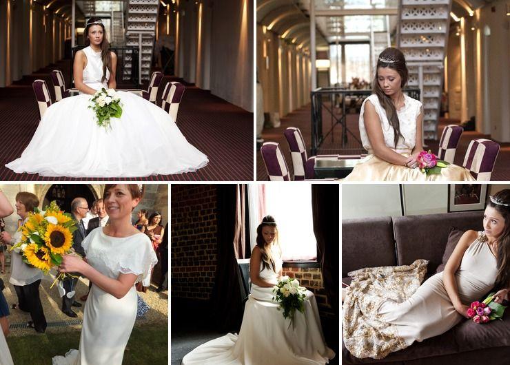 Gold wedding photo session ideas