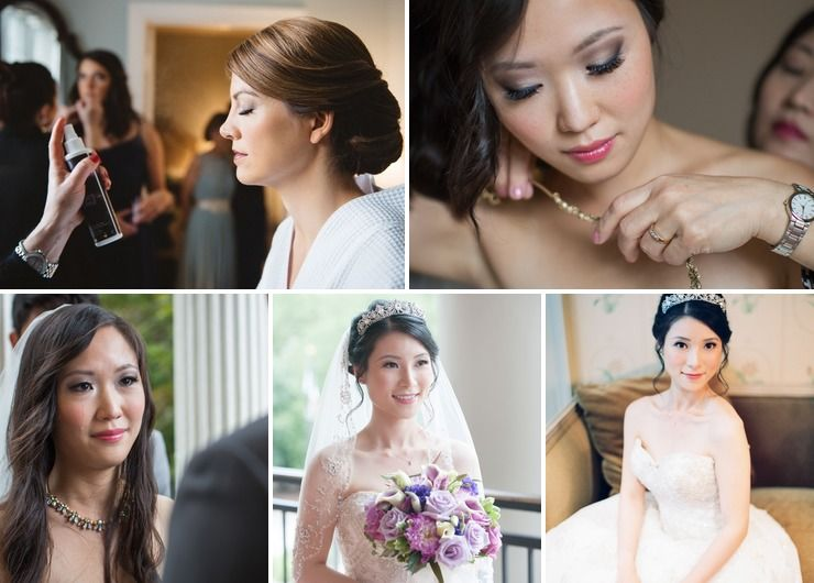 Bridal looks in all tones and colors