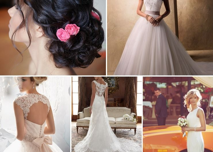 Wedding dresses Pink in Autumn European