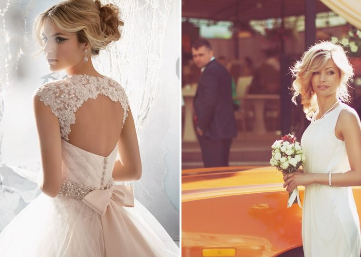 Wedding dresses Ivory in Autumn