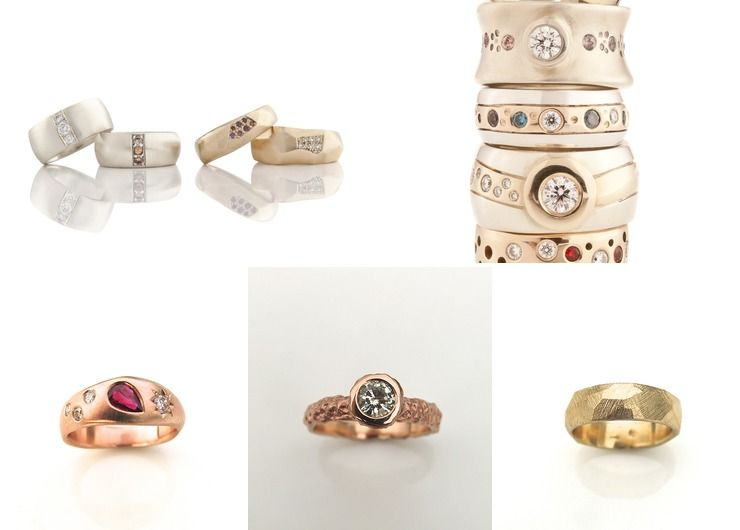 Custom made wedding & engagement rings