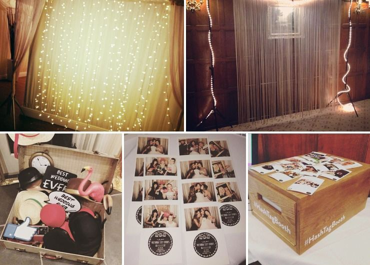 Photo Booth and Bell Tents