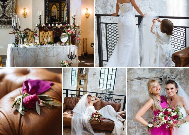"Wedding ""Italian fuchsia"""