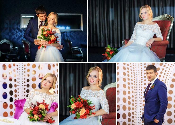 "Wedding ""Cranberry and Honey"""