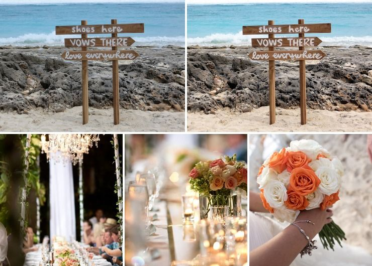 Chic Beach Wedding