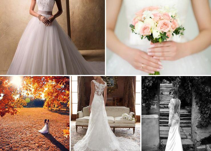 Wedding dresses Pink in Summer Rustic
