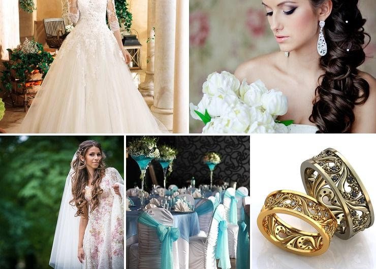 French ivory bridal style