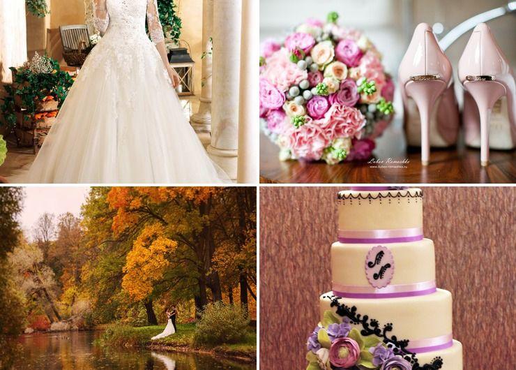 Wedding dresses Pink in Autumn Vintage