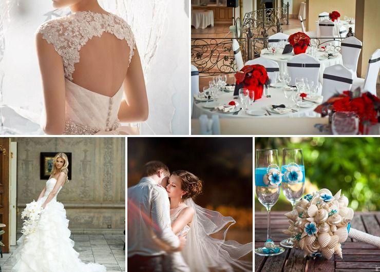 Overseas winter real weddings