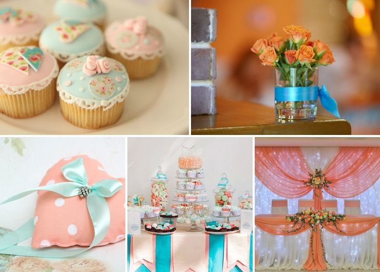 Wedding reception decor Pink