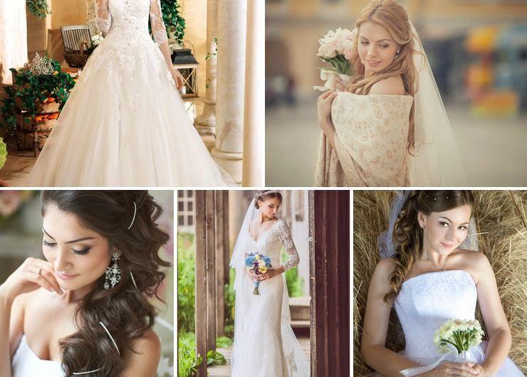 Wedding dresses in Autumn European