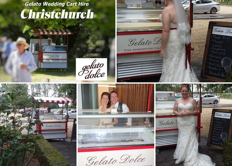 Gelato Dolce Wedding Hire