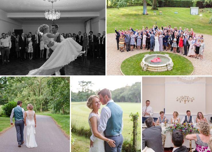 Hannah and Matthew's wedding by the photographer Heather Jackson