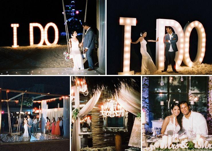 Beach Wedding by Mayte Mare