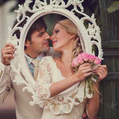 Ivory real weddings