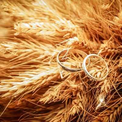 Autumn bridal style