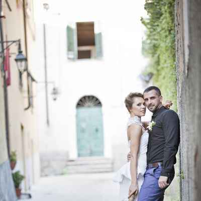 Mediterranean black real weddings