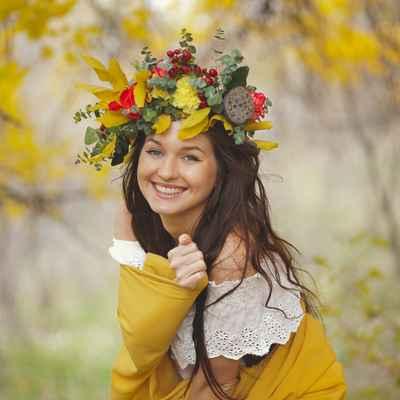 Autumn wedding accessories