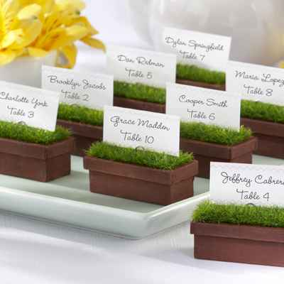 Rustic brown wedding signs