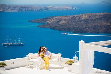 Mediterranean yellow real weddings