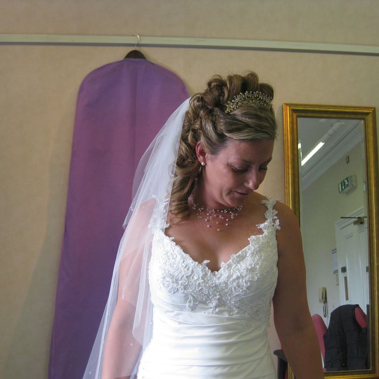 Wedding Hair Styles by Katie