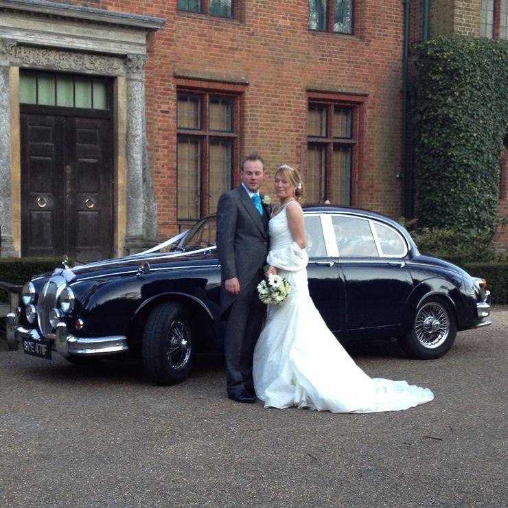 Our dark blue Jaguar Mk2