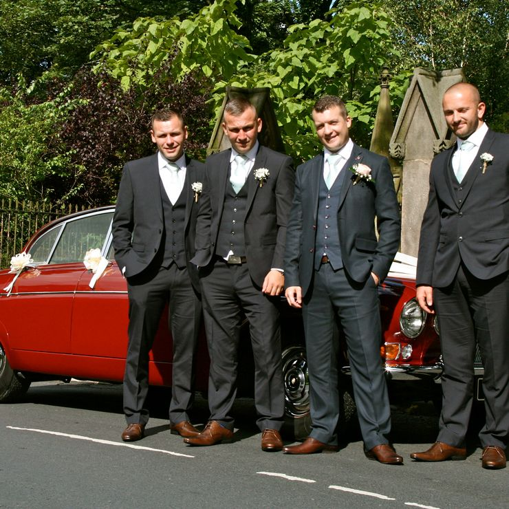 Reggie our classic Jaguar is ideal for that shabby chic or vintage themed Wedding