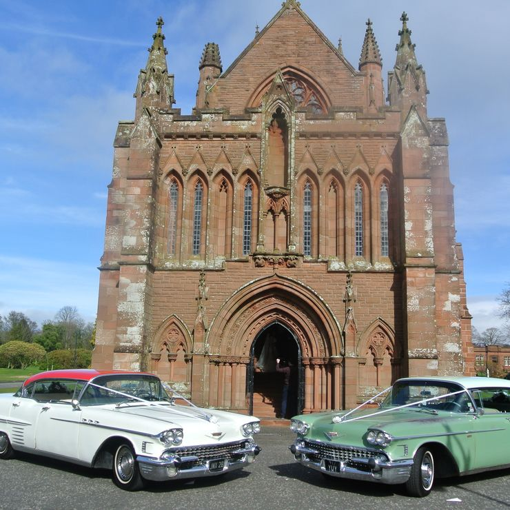 Gretna Green Vintage Wedding Cars & Cadillacs
