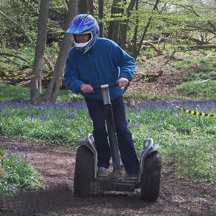 Segways for Hen Parties or even wedding arrivals!
