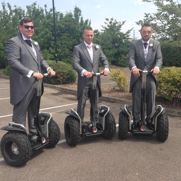 Segways for Hen Parties and even wedding arrivals