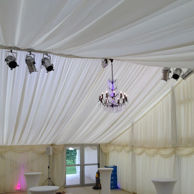 Derbyshire wedding marquee
