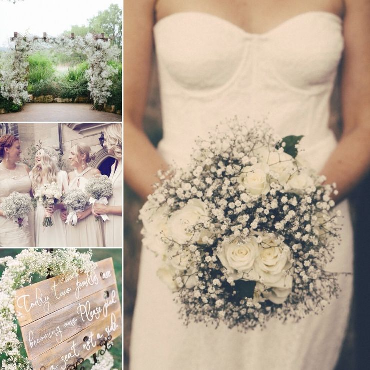 Joanne's Gypsophila and roses