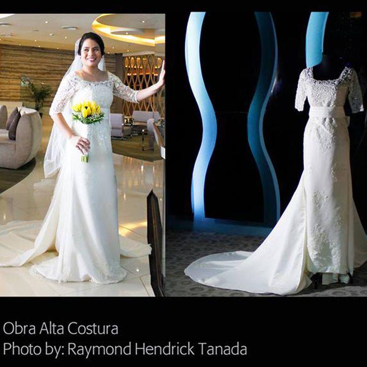 Modern Japanese Wedding Gown